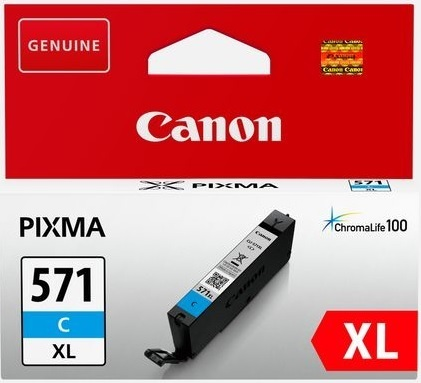 Canon CLI571XL cyan 10,8 mL.