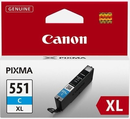 Canon CLI551XL cyan 11 mL.